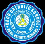 BACO CATHOLIC SCHOOL LOGO