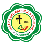 MINA DE ORO CATHOLIC SCHOOL LOGO