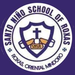 SANTO NINO SCHOOL OF ROXAS-MINDORO LOGO